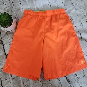 98eddf0e60 BOYS OP NEON ORANGE SWIM TRUNKS SIZE XL 14/16